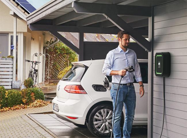 punto de carga coche electrico en casa