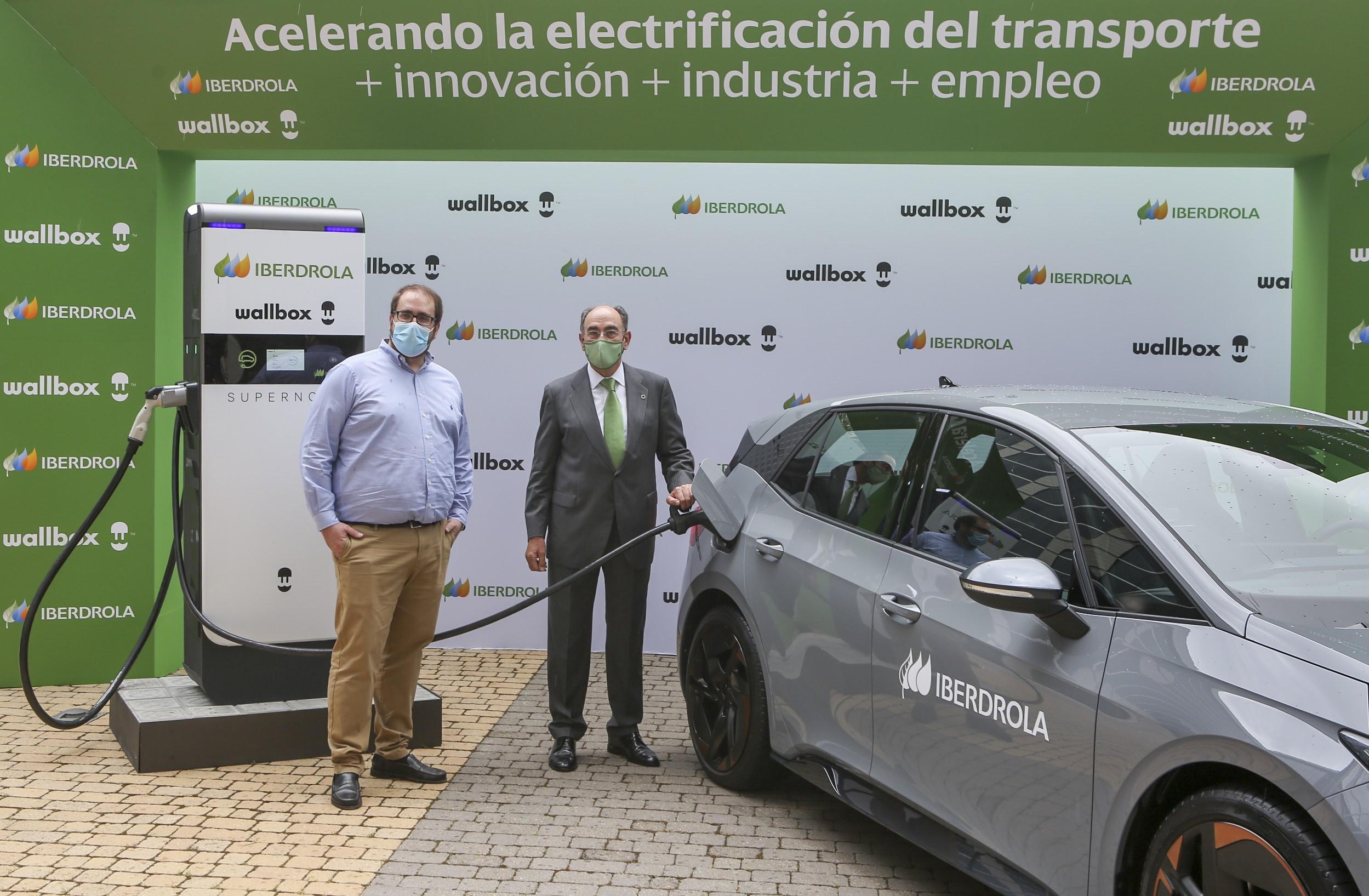 recarga de coches electricos