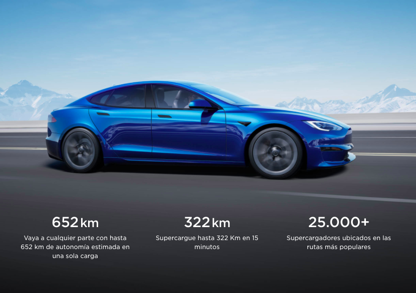 tesla model s plaid coches electricos rapidos