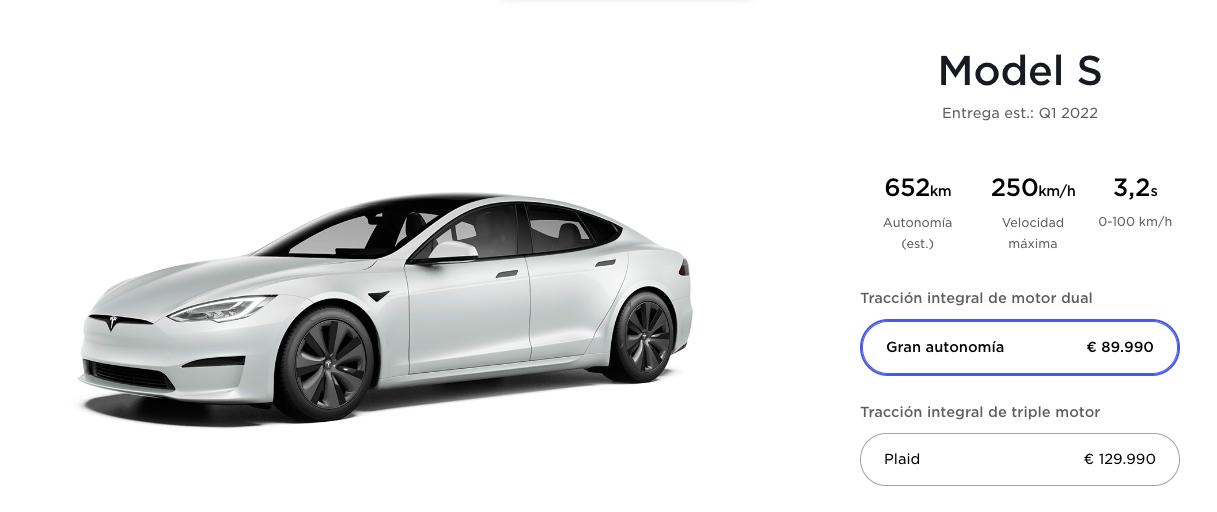 tesla model s plaid 2021 coche electrico rapido