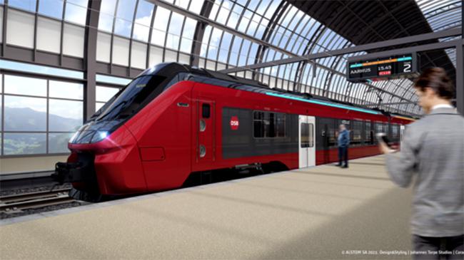 Alstom Coradia Stream.