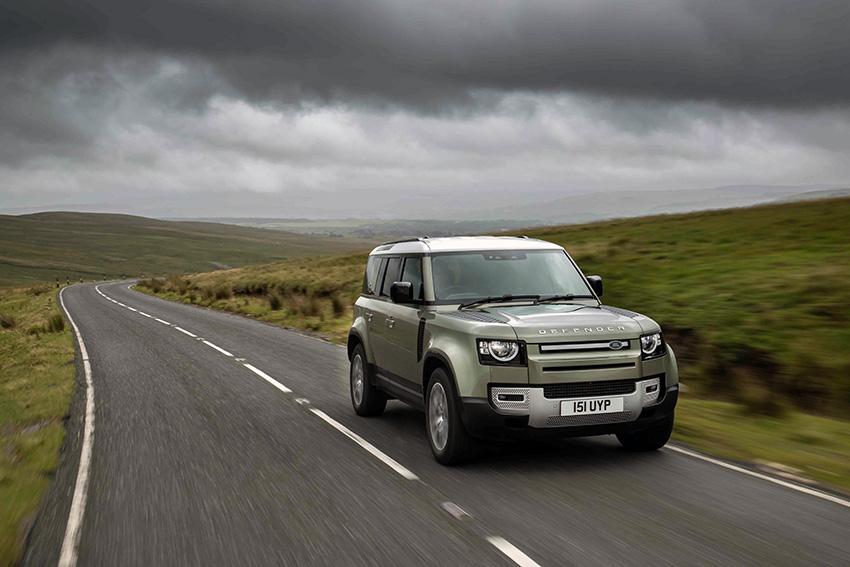 Land Rover Defender, entre los coches de hidrógeno anunciados recientemente.