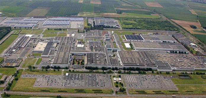 Planta de Douai de Group Renault, Francia.
