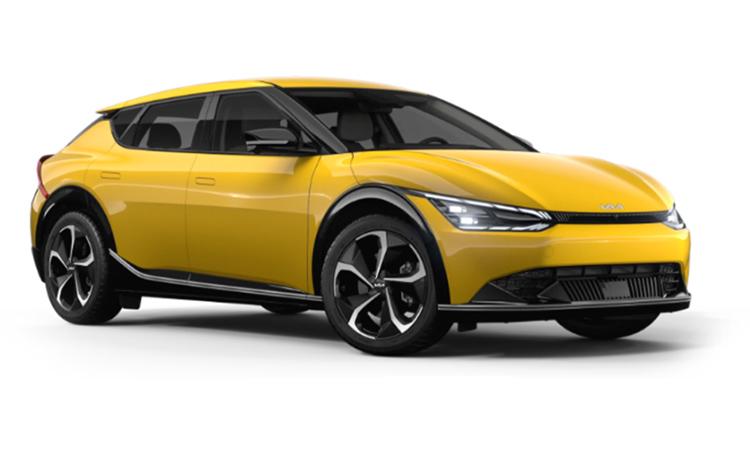 First Edition del Kia EV6 en Urban Yellow. coche elctrico