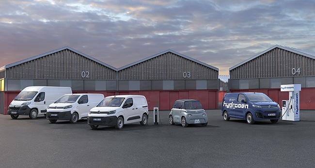 Gama eléctrica comercial de Citroën.
