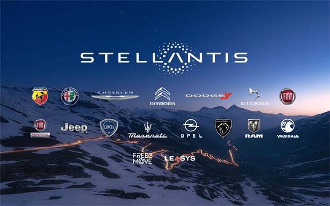 Marcas del a empresa Stellantis.