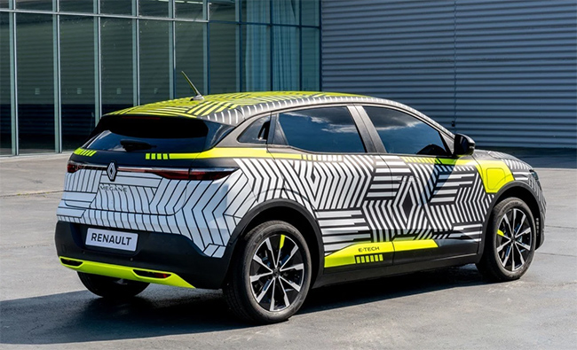 Nuevo Renault Mégane E-Tech Electric.