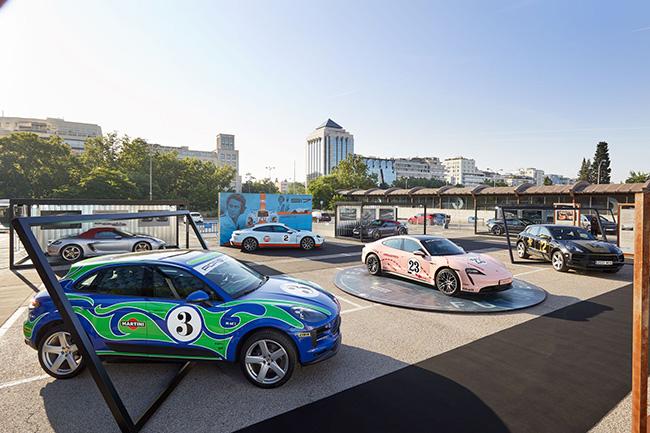 Porsche Boxes coche electrico