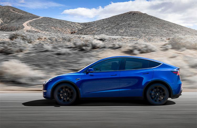 Tesla Model Y SUV eléctricos