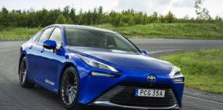 El Toyota MIrai ya está disponible para KINTO Share Suecia.