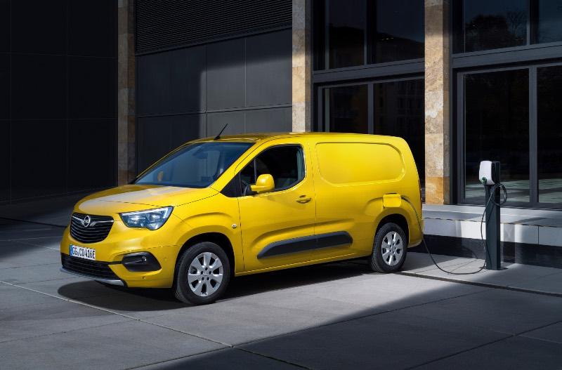 opel furgoneta electrica 2021