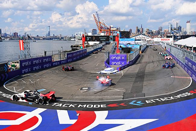 Circuito de Nueva York, junto al Hudson.