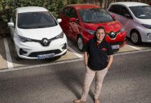 Cristina Ortega de Renault RRG Majadonda