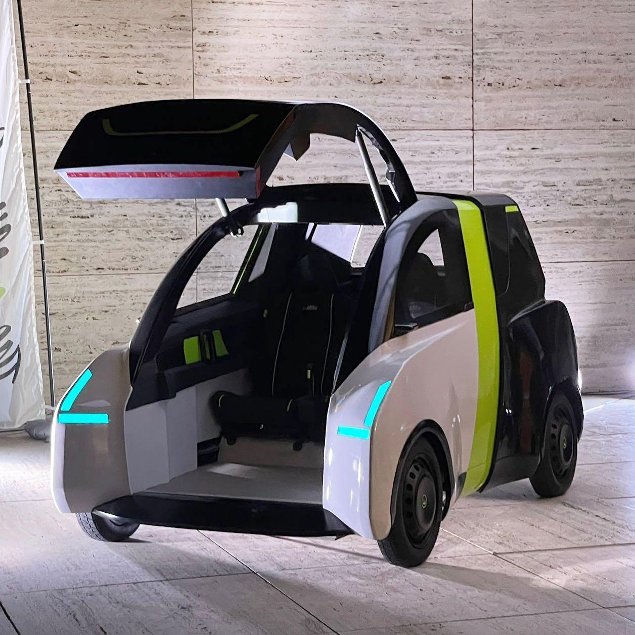 coche electrico pequeño