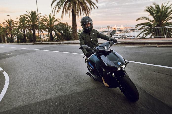Cuota de mercado de la moto eléctrica en 2021.