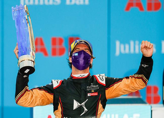 La buena actuación en Berlín 2020 llevó a Antonio Félix da Costa a conseguir el título, por primera vez, de una temporada de la Fórmula E. Junto a su compañero de equipo, Vergne, la pareja ayudó a DS Techeetah a retener el título del campeonato de equipos por segunda vez.