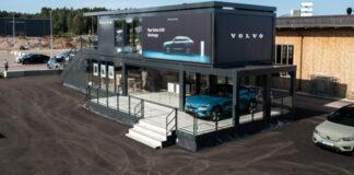 Estación de carga de Polestar y Volvo