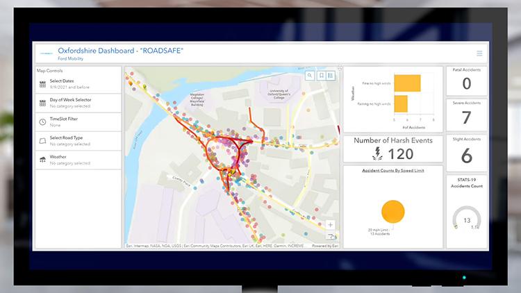Mapa de Calificación de Riesgo en Segmentos de Carretera
