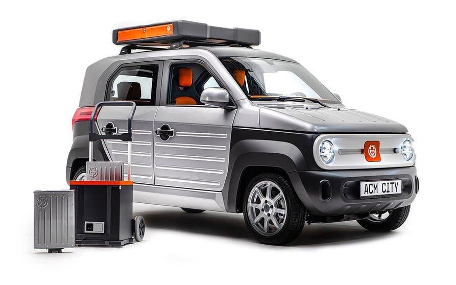 acm city one coches electricos urbanos