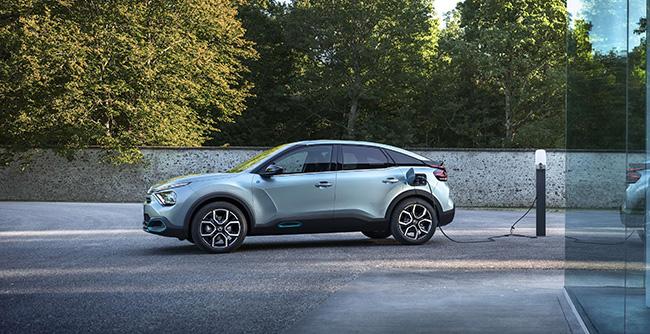 Nuevo Citroën ë-C4 suv electricos