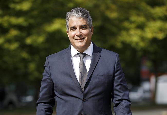 Gustavo Cardozo Lupi, director general del Panattoni España y Portugal.
