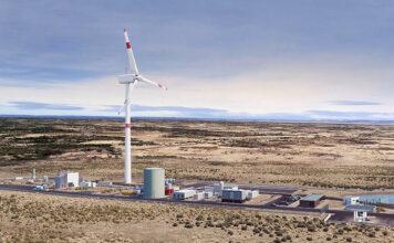 Emplazamiento de la planta de producción del proyecto Haru Oni.