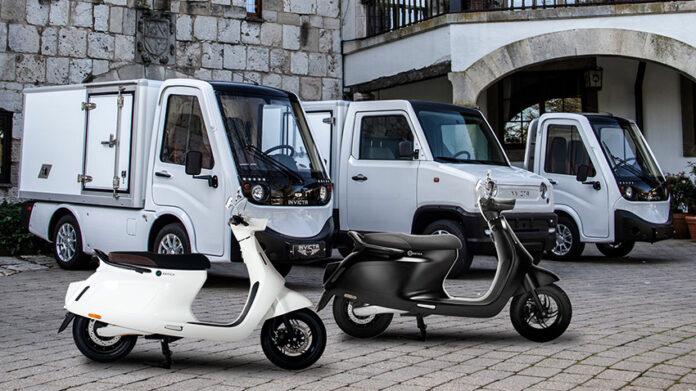 Vehículos del acuerdo entre Invicta Electric y Wellta Motors.