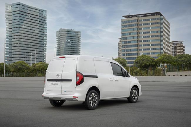 Nissan Townstar furgoneta compacta electrica