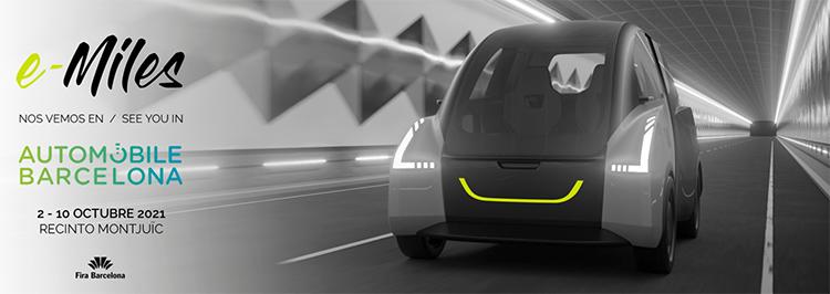The e-Miles en Automobile Barcelona