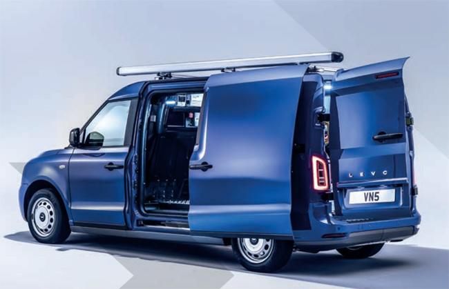 Nueva LEVC VN5. furgonetas electricas