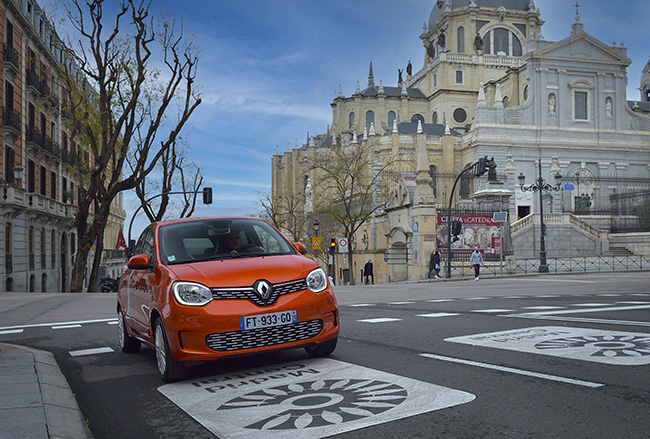Renault Twingo ZE coches electricos