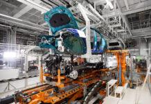 Producción de vehículos en España.