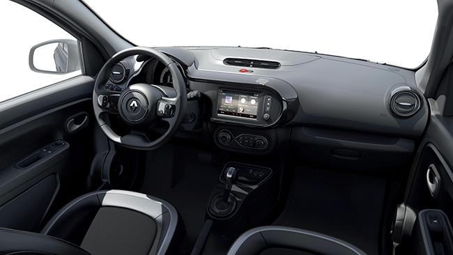 Interior del Renault Twingo Urban Night.