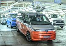Producción del nuevo VW Multivan.