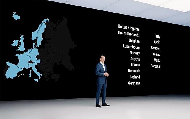 Matt Lei ha dicho que a los 16 países europeos actuales se sumarán Finlandia y Suiza en breve.